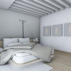 Sypialnia to pomieszczenie, które powinno być prawdziwą oazą spokoju. Pokojem służącym do odpoczynku i zregenerowania sił. Właśnie dlatego należy zadbać o intymny charakter tego wnętrza, który w dużej mierze tworzy odpowiednio dobrane oświetlenie. Fot. Activejet