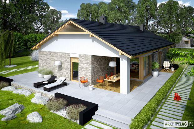 Daniel G2 to dom zaprojektowany dla rodziny, który ceni szlachetną elegancję, nowoczesne połączenia oraz komfort wygodnej i znakomicie doświetlonej przestrzeni. Dużym atutem projektu jest czytelny podział stref, zapewniający domownikom maksimum p