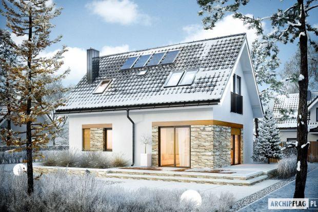 Dom Witek to pełna harmonia sprawdzonych rozwiązań. Dzięki swojej oszczędnej formie projekt jest szybki i tani w realizacji, a ponadto bardzo ciepły i ekonomiczny w utrzymaniu. Prezentuje się przy tym niezwykle efektownie i elegancko.