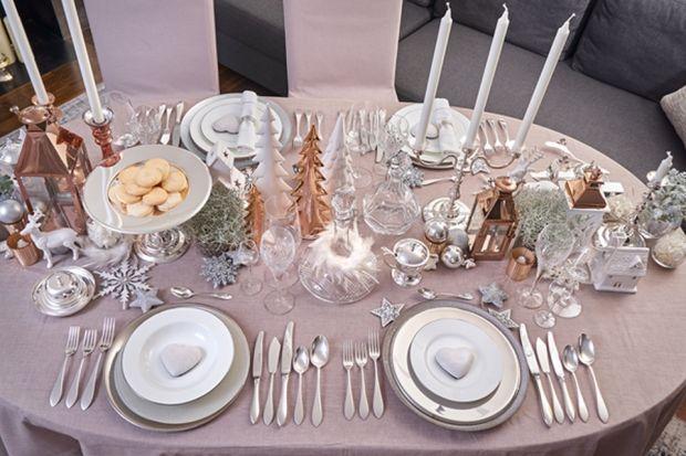 Srebrne trendy HEFRY w dekoracjach świątecznych