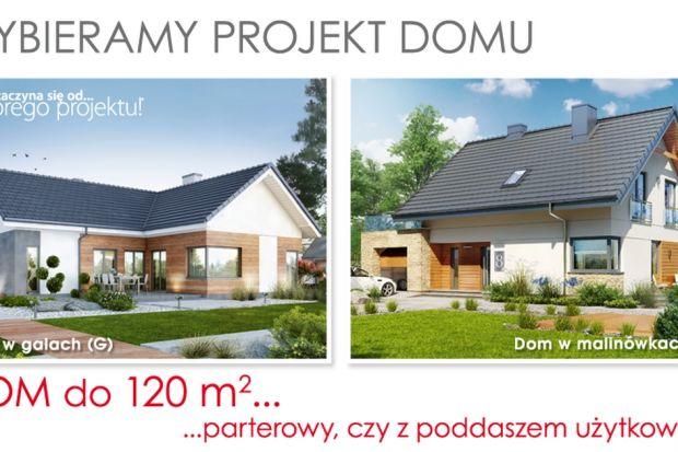 Wybieramy projekt domu. Parterowy, czy z poddaszem użytkowym
