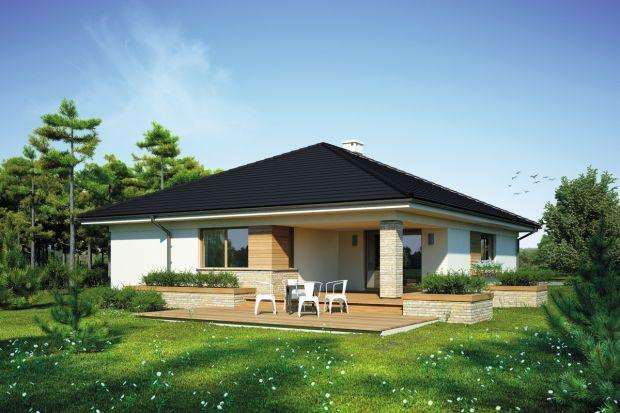 Bianka toparterowy, niepodpiwniczony dom, przeznaczony dla 4-5-osobowej rodziny.