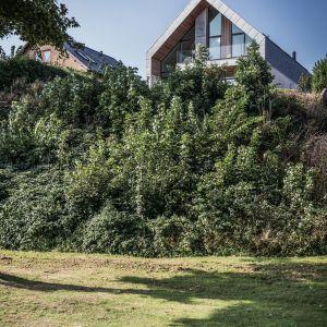 Mieszkańcy willi mogą rozkoszować się panoramą na ocean od wyspy Funen po kontynentalną część Danii. Fot. Patrick Ronge Vinther