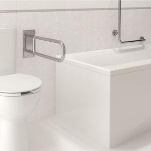 Jeśli już rozplanowaliśmy całe wnętrze łazienki, pozostaje wybrać serię, która poza innowacyjnymi rozwiązaniami bezkołnierzowymi zaoferuje odpowiadający nam design. Fot. Cersanit