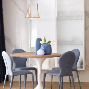 Zaplanowanie układu funkcjonalnego stanowiło spore wyzwanie dla projektantek, gdyż apartament w Kielcach powstał poprzez połączenie dwóch lokali. Fot. Pracownia KAZA, Dekorian