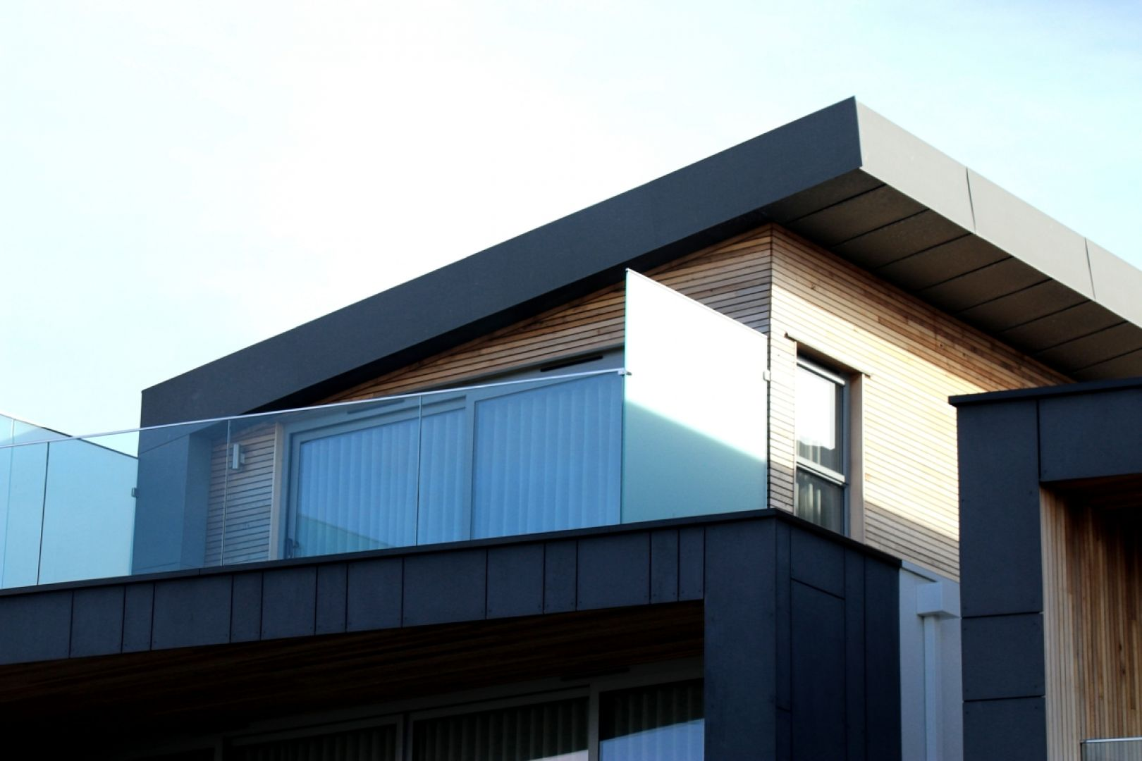 Dach płaski. Fot. pexels
