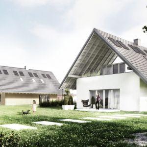 W modelowym budynku, który stanie się punktem odniesienia dla wszystkich przyszłych inwestorów indywidualnych, zostanie zastosowany innowacyjny, kwadratowy system rynnowy Galeco STAL². Fot. KWK Promes Dom Optymalny