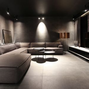 Warto dodać, że całe oświetlenie mieszkania Dominika Respondka to jego autorskie projekty, bo zawodowo zajmuje się także projektowaniem przedmiotów użytkowych. Fot. Adriana Furniture, Dominik Respondek
