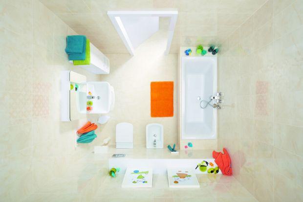 Podpowiadamy, jak na małym metrażu łazienki zmieścić wszystkie potrzebne sprzęty isprawić, by wnętrze wydawało się większe, ajednocześnie było przytulne.