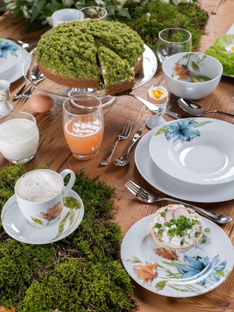 Wielkimi krokami zbliża się Wielkanoc. To dobra okazja na zakup nowej zastawy. Delikatna porcelana w kwiaty to ponadczasowa ozdoba stołu. Fot. Florina