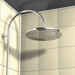 Silikony sanitarne nadają się np. do uszczelniania brodzików. Fot. Fischer