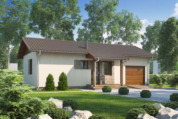 D51 Justyna to parterowy dom, niepodpiwniczony, idealny dla niewielkiej rodziny. Jest doskonały jako domek letniskowy, lecz może służyć także jako dom całoroczny.