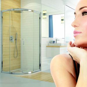 Obecnie wybór kabin i brodzików prysznicowych jest tak bogaty, że każdy znajdzie coś w sam raz dla siebie. Fot. Sanplast
