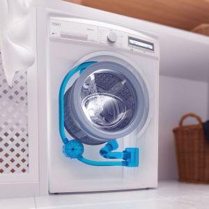 Model wyposażony jest w system Eco Logic, dzięki któremu wyraźnie zmniejsza się zużycie energii, nawet o 50%. W przypadku częściowego załadunku pralka automatycznie dostosowuje wszystkie parametry. Oznacza to optymalną redukcję zużycia wody i prądu oraz skrócenie czasu prania przy zachowaniu maksymalnej efektywności. Fot. Kernau