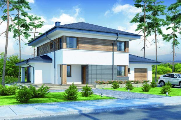 Telmun to przestrzenny, piętrowy dom przeznaczony dla 4–5-osobowej rodziny. Jego rozrzeźbiona bryła, nowoczesna w formie i detalu świetnie wpisuje się zarówno w zabudowę miejską, jak i wiejską.