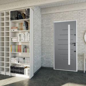 Drzwi wewnętrzne wejściowe (wewnątrzklatkowe) wykorzystywane w mieszkaniach powinny skutecznie tłumić m.in. odgłosy kroków na klatce schodowej. Wewnątrz ich konstrukcji stosuje się np. specjalne płyty dźwiękochłonne, które pozwalają osiągać wysoki współczynnik izolacyjności akustycznej – powyżej 40 dB. Fot. Gerda