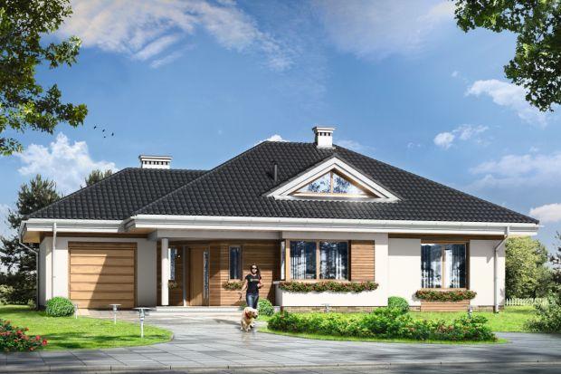 Zobacz projekt parterowego domu z możliwością adaptacji poddasza
