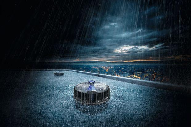 Naprawdę skuteczny system deszczowej kanalizacji dachowej ma w zasadzie realizować jedno podstawowe zadanie –szybko i w kontrolowany sposób odprowadzać wodę z dachu. Aby jeszcze bardziej uprościć montaż systemu odprowadzania wody Pluvia, Geber