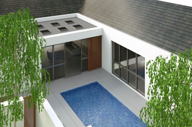 Bryły domów zwieńczone nowoczesnym stropodachem to nie tylko sposób na wyróżnienie budynku spośród zwyczajowych dachów skośnych, ale cały szereg wartości dodanych – zwłaszcza jeśli włożymy nieco wysiłku w projekt i aranżację tej dod