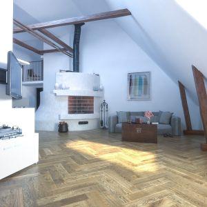 Stąd właśnie pojawił się pomysł na stworzenie kolekcji FertigDeska Design Experience od Jawor-Parkiet – linii krótkich, dębowych desek przyciętych do długości 590 lub 600 mm. Fot. Jawor-Parkiet