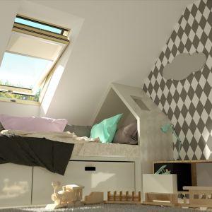 Pokój najmłodszego członka rodziny łączy w sobie funkcje placu zabaw, laboratorium naukowego i przytulnej sypialni. Warto więc zadbać o jak najpełniejsze wykorzystanie naturalnego światła dziennego. Fot. Okpol