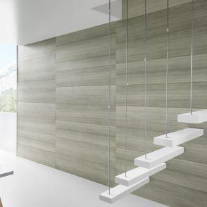 W ostatnim czasie kolekcja Kerradeco została wzbogacona o nowe dekory i obecnie obejmuje ona 20 wzorów podzielonych na 3 kolekcje – Wood Line, Stone Line i Textile. Płyty pozwalają na aranżację wnętrz utrzymanych w różnorodnej stylistyce – od klimatów loftowych, przez rustykalne i skandynawskie, aż po techniczny minimalizm. Fot. Vox