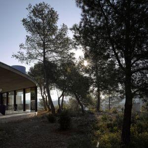 """""""Solo House"""" to nietypowa rezydencja wiejska położona w środku dziewiczego lasu. Fot. Bas Princen"""