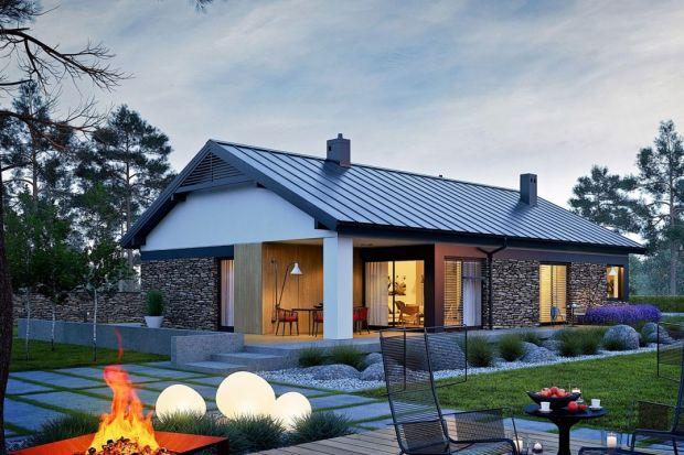 Daniel II G1 to projekt wymarzonego domu dla wszystkich, którzy kochają świetliste wnętrza i poszukują idealnej harmonii między nowoczesnym designem, a przytulnością. Najatrakcyjniejszą częścią projektu jest rodzinna przestrzeń wspólna, gdzi