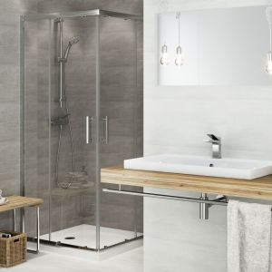 Poza zestawami prysznicowymi możemy wybrać idealną dla siebie baterię, zarówno natryskową, jak i wannowo-natryskową. Fot. Cersanit