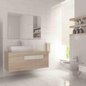Planując rozmieszczenie ceramiki sanitarnej w pomieszczeniu, należy pamiętać również o zachowaniu optymalnych odstępów, gwarantujących jej komfortowe użytkowanie. Fot. Armatura Kraków