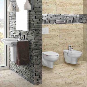 Podwieszana ceramika sanitarna ma szereg zalet, wpływających zarówno na estetykę, jak i funkcjonalność pomieszczenia. Fot. Armatura Kraków