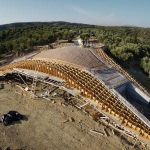 Willę zaprojektowali architekci z Londynu i Brukseli – Theo Sarantoglou Lalis i Dora Sweijd ze studia architektonicznego LASSA.  Fot. NAARO