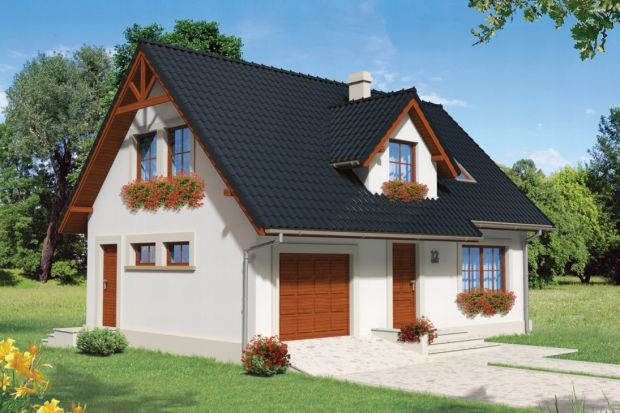 Zobacz prosty i tani w budowie dom z poddaszem użytkowym