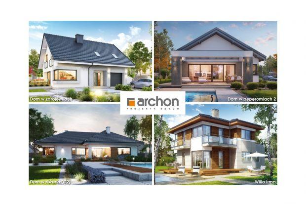 Planujesz budowę niedużego domu? Zobacz wybrane projekty małych domów ARCHON+
