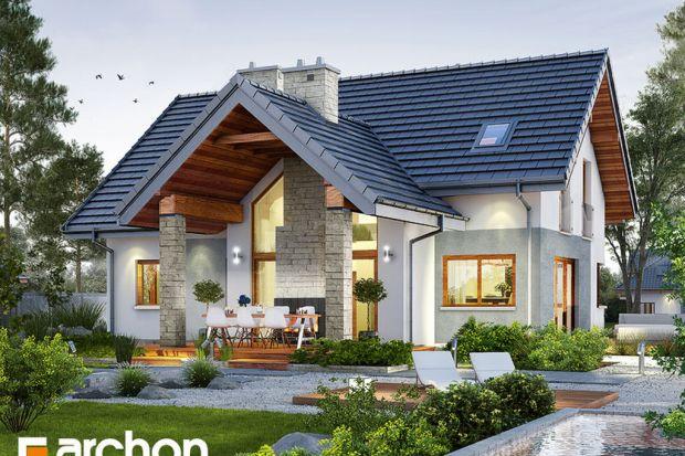 Prezentujemy wyjątkowy projekt domu, będący ciekawą propozycją dla tych, którzy chcą się cieszyć efektowną przestrzenią zewnętrzną i wewnętrzną budynku o mniejszym metrażu.