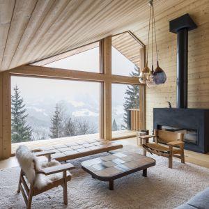 Dom zapewnia wspaniałe widoki górskie, w ciepłej i przyjemnej atmosferze. Fot. Olivier Martin Gambier