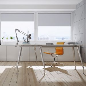 Produkt cechuje prostota i elegancja. Jego aluminiowa konstrukcja i starannie dopracowane detale zapraszają do świata nowoczesnego designu. Fot. Aluprof