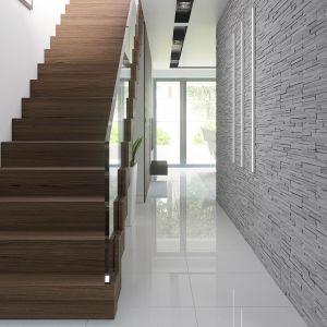 Również schody idealnie pasują do nowoczesnej koncepcji domu. Fot. HomeKoncept