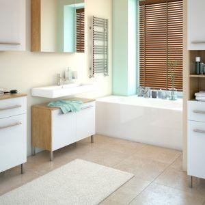 Kolor Sea Breeze z palety Beckers Designer Kitchen & Bathroom niczym niezmącona tafla wody pozwoli uspokoić emocje i zanurzyć się w świecie marzeń. Fot. Beckers