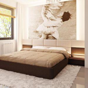 W ostatnim czasie bardzo modne są sypialnie nowoczesne, urządzone w minimalistycznym, jasnym stylu. Fot. Z500