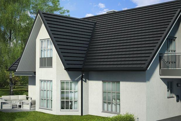 Nowoczesny dom z nowoczesnym dachem