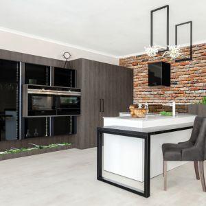"""Montując fronty akrylowe w kuchni zyskujemy doświetlenie przestrzeni – szczególnie, jeżeli wybierzemy wersję z połyskiem – kuchnia będzie wydawać się większa i """"pełniejsza"""". Fot. Studio Max Kuchnie, Bossi"""