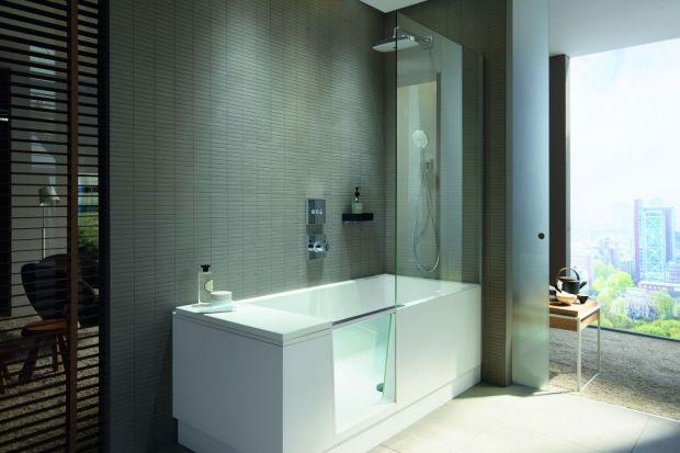 Idealne połączenie prysznica i kąpieli