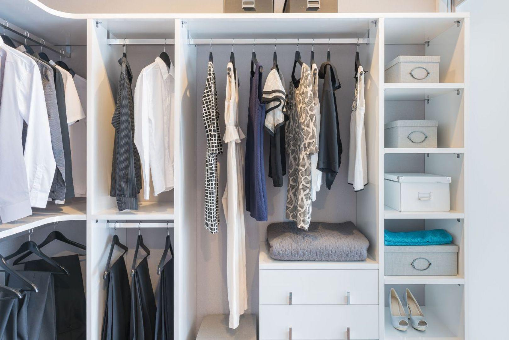 Funkcjonalna garderoba, to taka, w której jest miejsce na wszystko. Fot. Gamet S.A.
