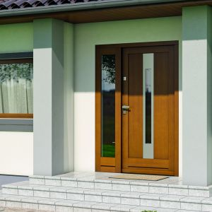 Dobry współczynnik przenikania ciepła to nie wszystko – aby dawać pożądane efekty termiczne, drzwi muszą być prawidłowo usytuowane i umocowane, co pozwoli nie tylko na uniknięcie mostków termicznych, ale też umożliwi odpowiednią wentylację i zabezpieczenie przed wilgocią. Fot. Porta