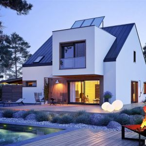 Projekt domu Neli W2 ENERGO PLUS. Fot. Archipelag
