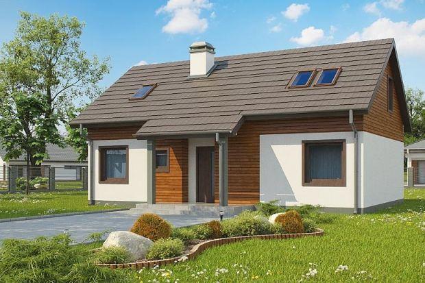 Nieduży i niedrogi. Zobacz projekt energooszczędnego domu 131 mkw.