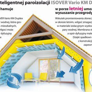 Dobrze dobrana izolacja daje komfort użytkowania i pozwala zmniejszyć koszty utrzymania domu. Fot. Isover