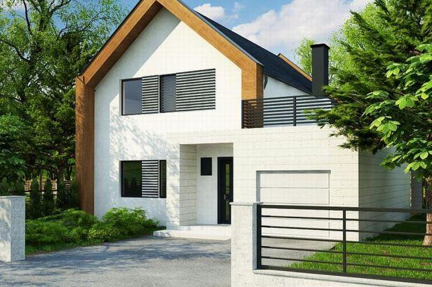 Z424 to projekt nowoczesnego domu dwurodzinnego. Część mieszkalna została przykryta dachem dwuspadowym, zaś garaż zwieńczono stropodachem. Bryła garażowa umiejscowiona jest z zewnętrznej części segmentów mieszkalnych, co umożliwia jej rozbud