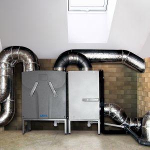 Sercem systemu wentylacji z odzyskiem ciepła jest rekuperator. Fot. Aeris